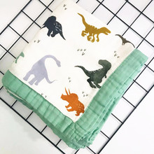 four layer baby Swaddle Wraps Cotton Baby muslin Blankets Newborn 70%Bamboo 30%cotton muslin quilt
