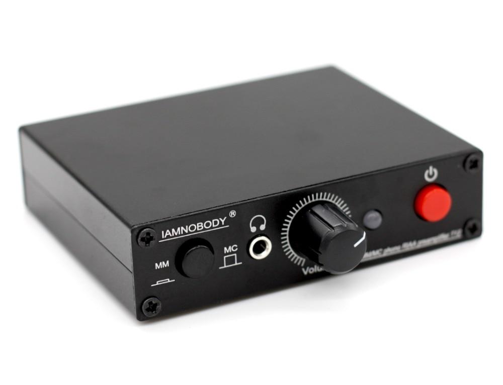 T12 MM MC Turntable Phono RIAA Preamp preamplifier Headphone amplifier
