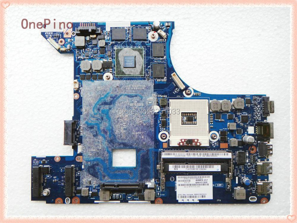 цена QIWY3 LA-8001P for lenovo Y480 Notebook for lenovo y480 laptop motherboard LA-8001P DDR3 100% tested