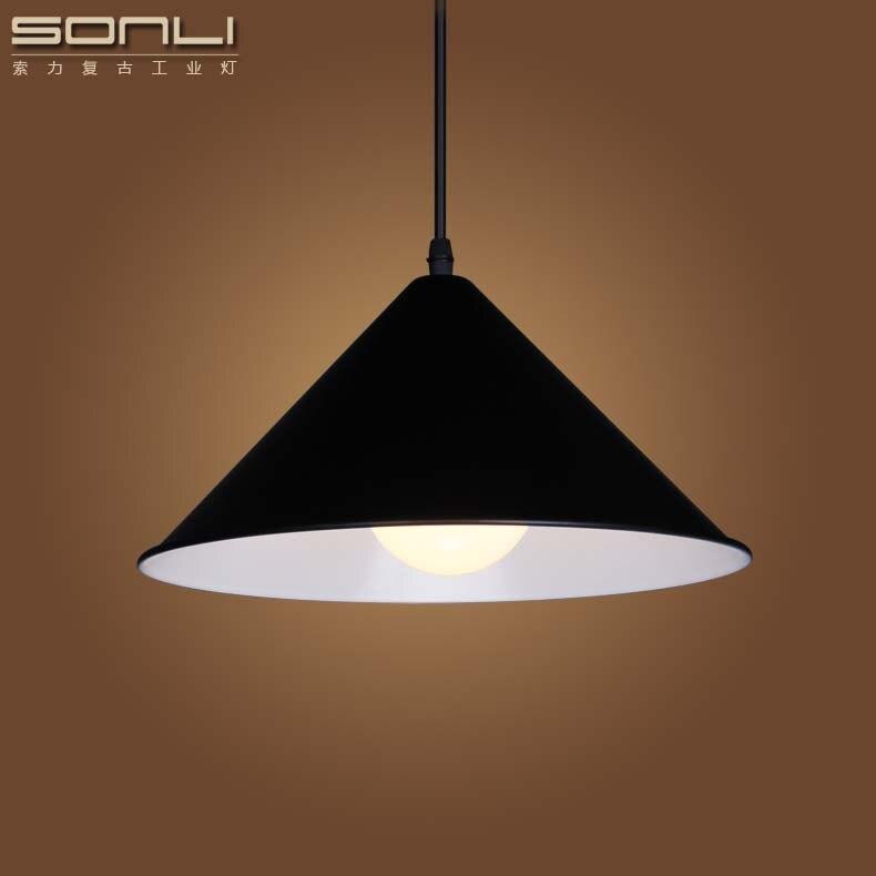 moderna singola testa di ferro lampada a sospensione a led da cucina lampada a sospensione per
