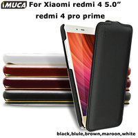 Phone Cases Xiaomi Redmi 4 Pro Cover Case Genuine Flip Leather Capa Xiaomi Redmi 4 Redmi