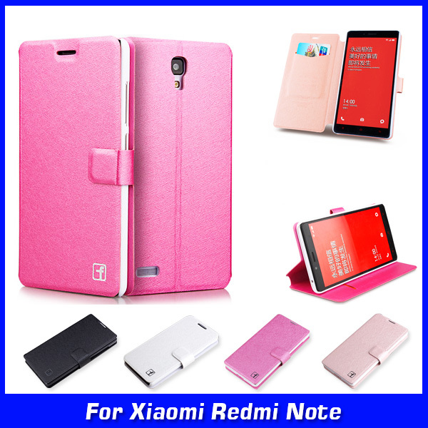 Luxury Ultra Thin Wallet Flip PU Leather Case Cover For Xiaomi Redmi Note 4G LTE 3G 5.5 inch Case Cell Phone Shell
