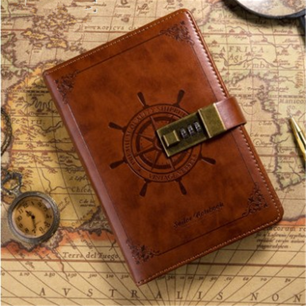 Yiwi One Piece Notebook Hardcover Book Pirate Sailor Monkey D Luffy Figure Model Pen Kawai For Traveler Notepad Christmas Gift Notebooks & Writing Pads