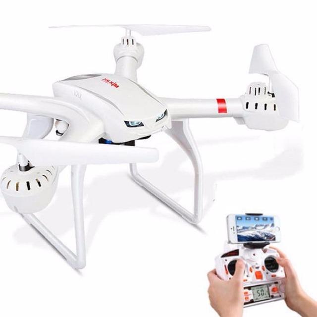 Juguetes de control remoto MJX cámara drone 2.4 GHz 6 Ejes X101 girocompás RC helicóptero con Giro 3D Función Tropezando dron Sin cámara