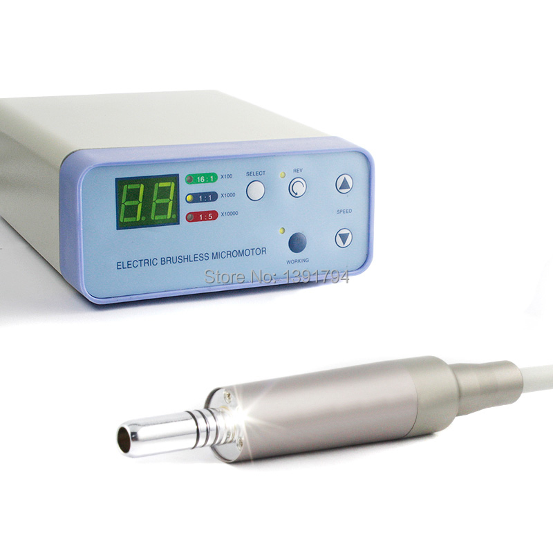 Dental AS8000   Brushless Electric LED Handpiece System Micromotor Cord NSK  inner water spray KAVO compatible