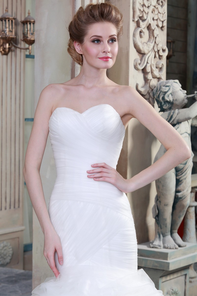 Mermaid Wedding Dresses China Supplier Made In China Latest Dress Designs HSW7 (2)