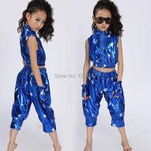 В розницу!, новинка, комплект детской одежды унисекс, одежда для выступлений в стиле хип-хоп, короткие штаны, костюмы для джазовых танцев