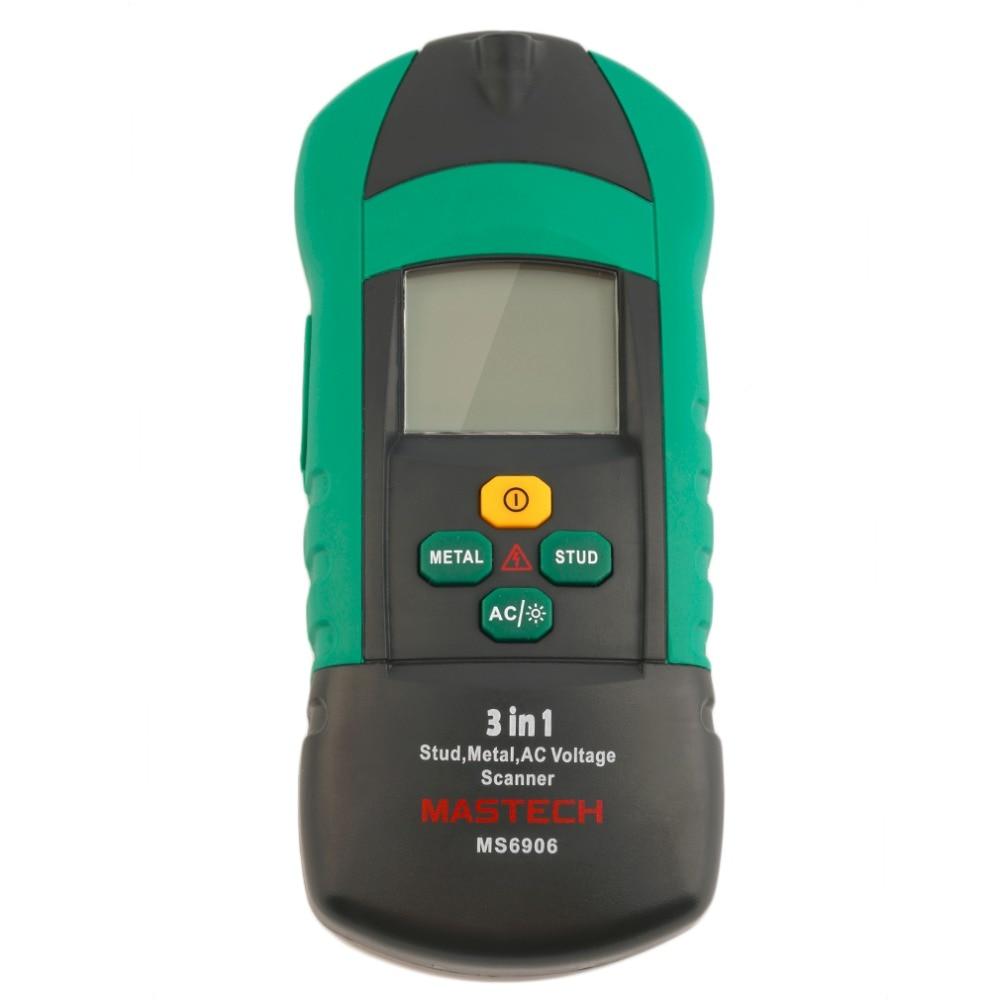 1Pc MASTECH MS6906 Stud Metal AC Voltage Scanner Detector Test Multifunction от Aliexpress INT