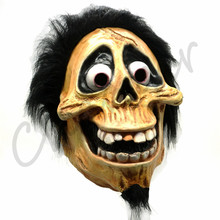 Skull Hector Rivera Mask Cosplay Movie CoCo Migul Latex Masks Costumes Halloween Party Prop