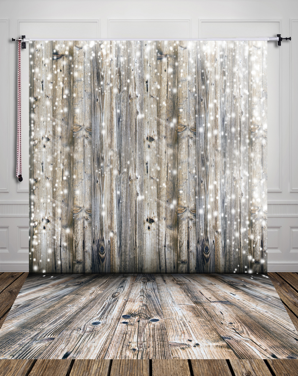 Studio Photography Background Christmas Wood Backdrop Studio Newborn Backdrops Snow Sparkle Backdrop D-2389 600cm 300cm fundo snow footprints house3d baby photography backdrop background lk 1929