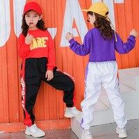 Baby Girls Tracksuit Set 2pcs Letter Print Short Tops+Long Pants Dance Cheerleading Kids Costumesr Girls clothes Child Clothing