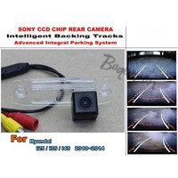 Imports HD CCD Night Vision Intelligent Car Parking Camera With Backing Trajectory Rear Camera For Hyundai