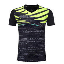 Kid / Women / Men Quick dry Badminton shirts ,short sleeve tennis clothes , Table Tennis t shirt , Girl Tennis shirts Uniforms(China)