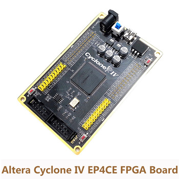 Altera Placa de desarrollo FPGA CYCLONE IV EP4CE tarjeta núcleo vídeo imagen TFT tarjeta SD