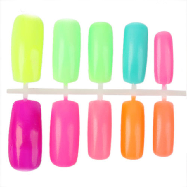 12 colors Hot Selling Summer cool candy color Fluorescent Neon Luminous gel Nail Polish for Glow in Dark Nail Varnish Girls love