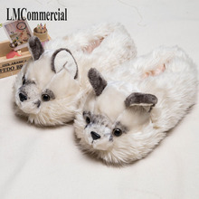 Europe and the United States Persian cat special cotton slippers, winter lovers bag with thick bottom slip, home lovely confinem