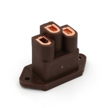 Free shipping one pieces Viborg pure Copper AC IEC Inlet Socket