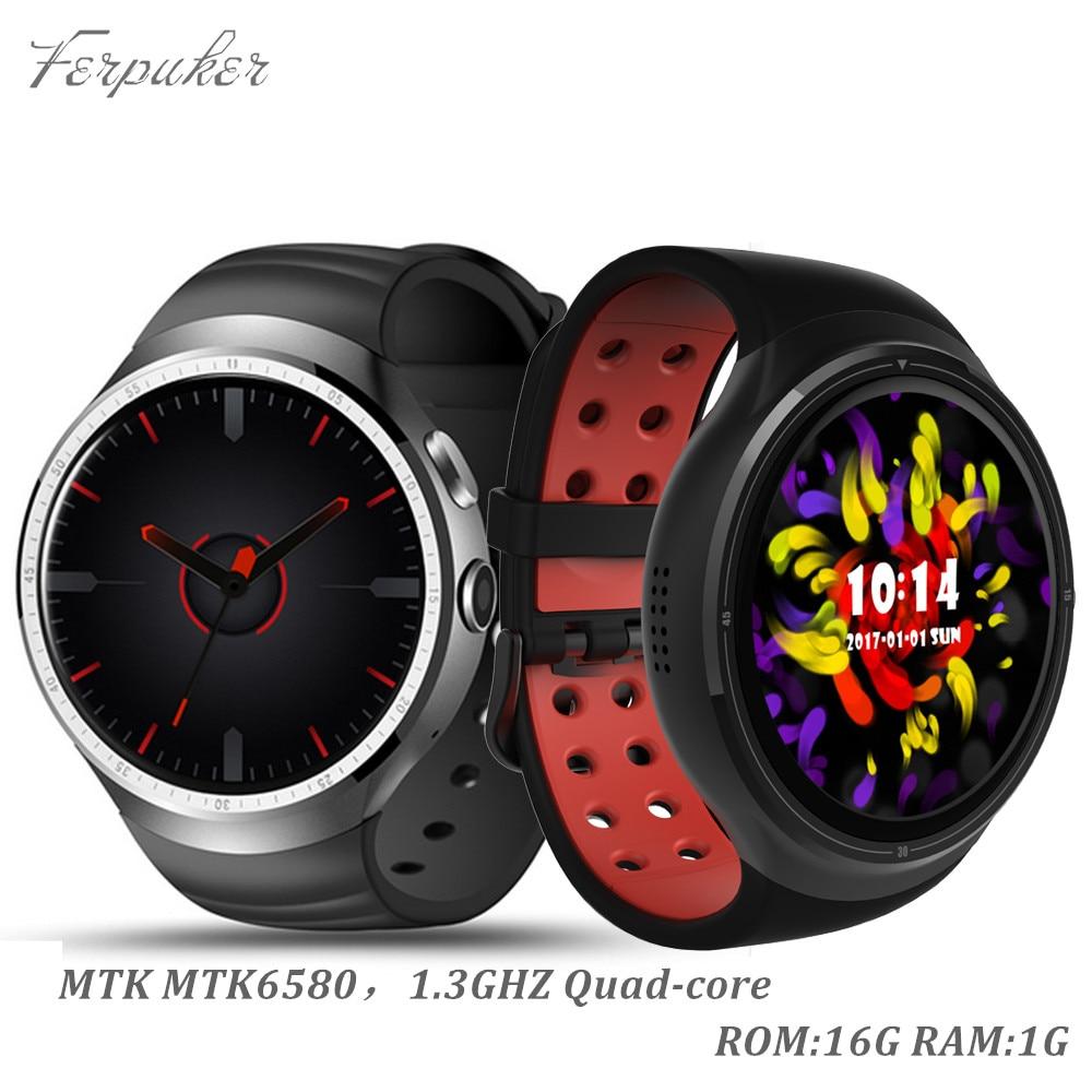 Feipuker nueva mtk6580 z10 smart watch android 5.1 os 1 gb/16 gb teléfono tarjet