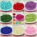 Free Shipping Wholesale Pick Size 4mm 6mm 8mm 10mm,ABS Imitation Pearls Many Colors For You To DIY Fashion Jewelry