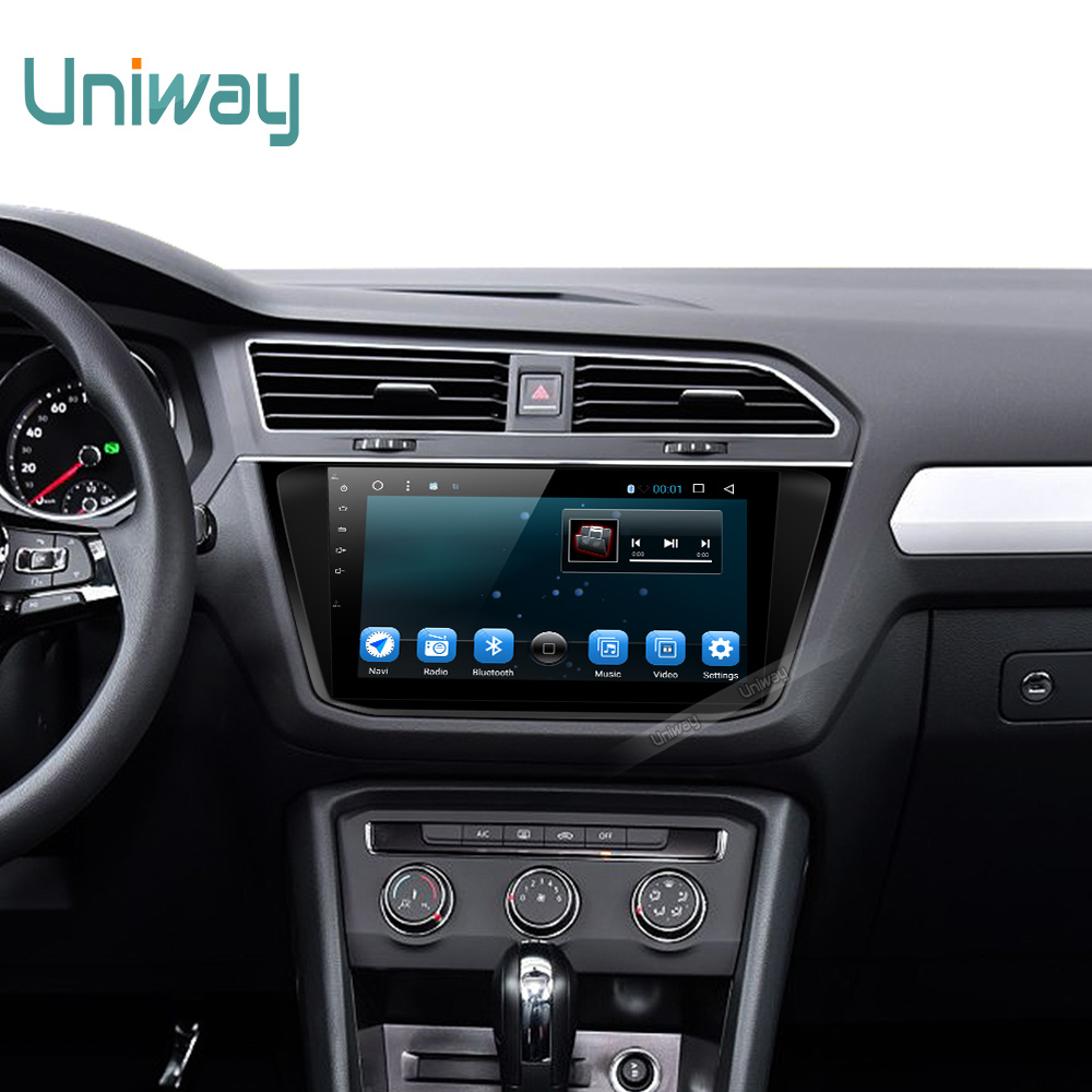 Uniway 2G 16G 2 din andooid 6 0 car dvd for vw tiguan 2017 car radio