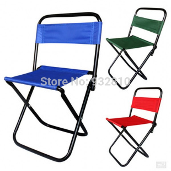 Bearing 80kg Cute Portable Mini Camping Chair Outdoor Aluminum Alloy Folding Fishing Stool Small Seat Beach Chairs Travel Sk347 In From
