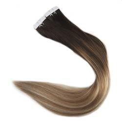 Полный блеск 100 г выметания Реми ленты в наращивание волос #2 темный коричневый выцветанию #8 и #22 блондинка расширение уток кожи ленты