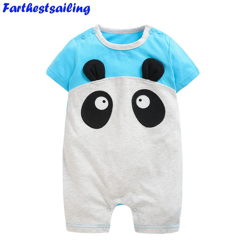 Baby Rompers Summer Baby Boy Clothes 2018 Baby Girl Cotton Newborn Baby Clothes Roupas Bebe Infant Jumpsuits Kids Clothes