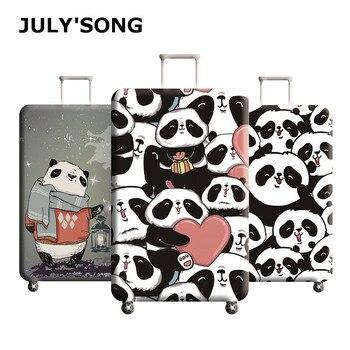 6e8ab4763 JULY'S CANCIÓN DE VIAJE maleta de equipaje cubierta protectora elástico a  prueba de polvo de la cubierta protectora de equipaje se aplican a 18-32  pulgadas ...