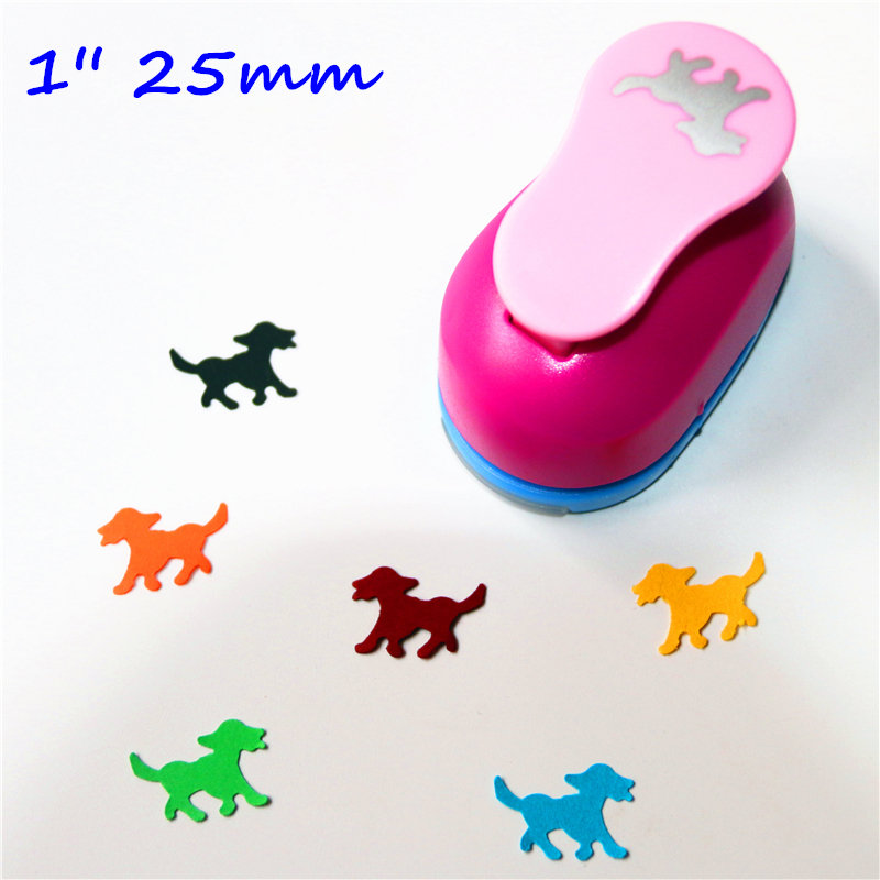 1 Inch Dog Design Eva Foam Punch Paper Punches Scrapbooking Cutter Hole Punch Craft Punching For DIY Artwork