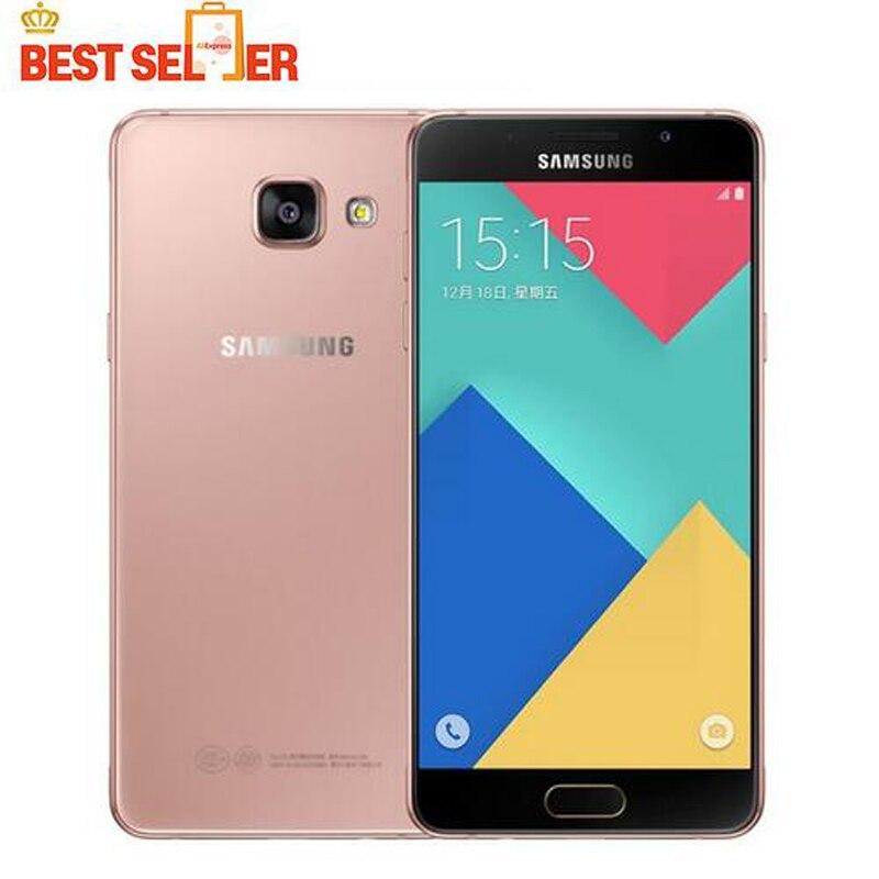 Цена за 2016 оригинал samsung galaxy a5 a5100 мобильного телефона 2 ГБ ram 16 ГБ rom 5.2 дюймов Dual SIM 4 Г LTE Окта основные 13MP Камера Android OS5.1