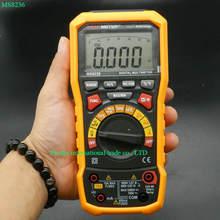 HYELEC MS8236 6000 Condes Multímetro Digital con T-RMS/USB 1000 V 10A 60 M Ohm 100mF 10 MHz Deber ciclo de Temperatura
