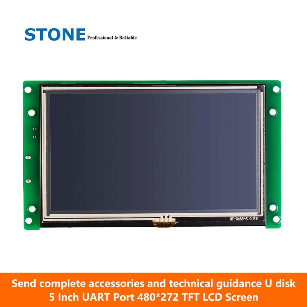 5 Inch Industrial Embedded TFT LCD Eouch  Screen Module Support/ PIC/ Any MCU5 Inch Industrial Embedded TFT LCD Eouch  Screen Module Support/ PIC/ Any MCU