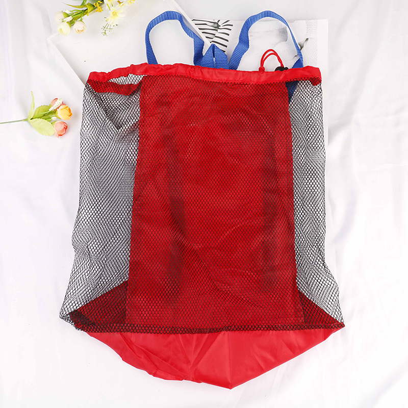 Accessories Sport Outerdoor Beach Mesh Bag Pouch Sea Shell Storage Bag Fun Funny Gadgets Interesting Bath Toys For Children Birthday Gift Boys' Baby Clothing