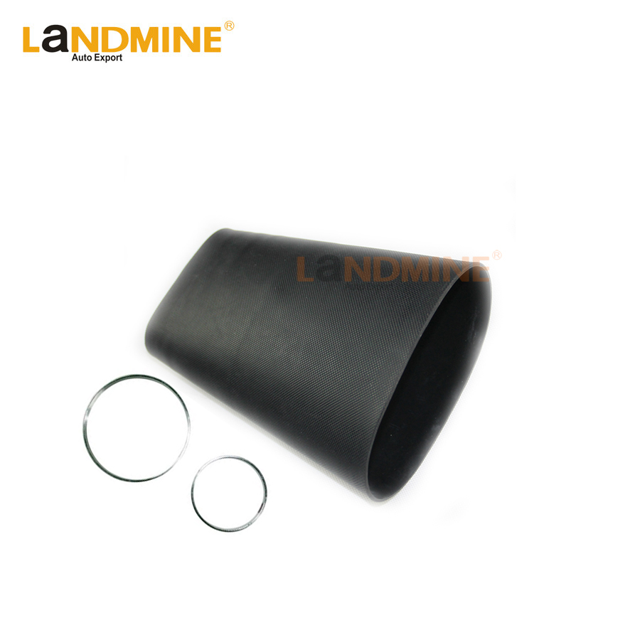 Free Shipping 1Set Front Pillow Rubber Sleeve With Rings Air Suspension Repair Kit Bladder For <font><b>A8</b></font> <font><b>D3</b></font> 4E 4E0616039AF 4E0616040AF image