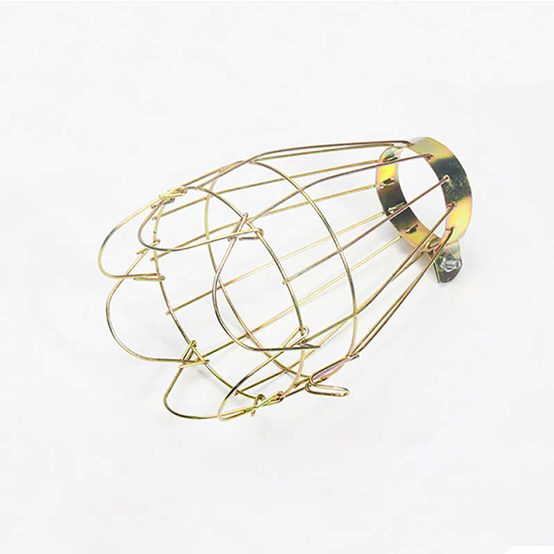 Retro Vintage Industrial Decor Lamp Covers Pendant Light Guard Lamp Cover Wire Cage Ceiling Fitting Hanging Bars Cafe Lampshade