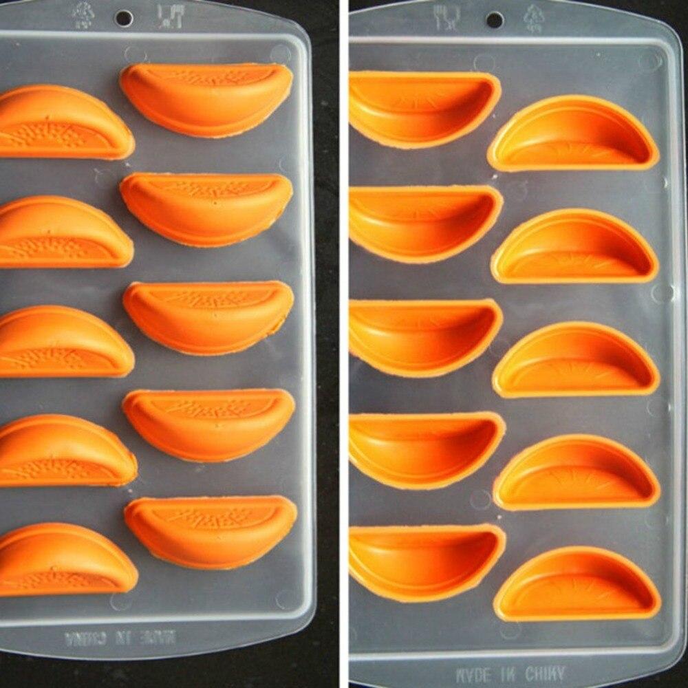 Fácil de limpiar, práctica de silicona de grado de alimentos Chocolate molde de cubo de hielo bandeja congelar molde Barra de molde de gelatina