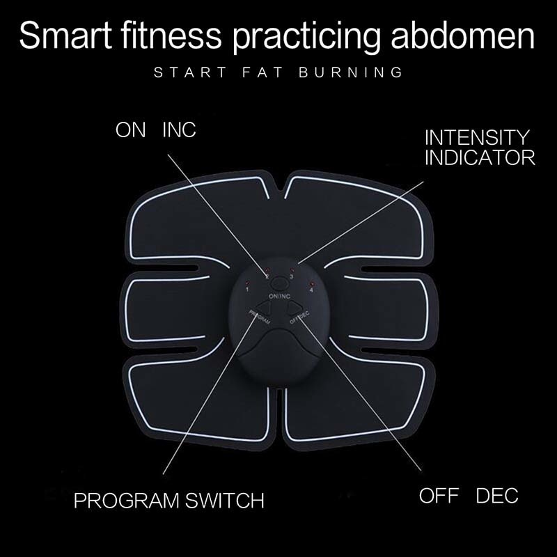 EMS Abdominal Muscle Trainer , EMS Slimming Machine , Abs Toner , Abs Training Belt