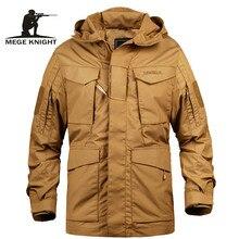 Мужская армейская куртка в стиле милитари MEGE, тактическая военная куртка цвета грязи, армейская ветровка армии США с капюшоном в стиле милитари на осень