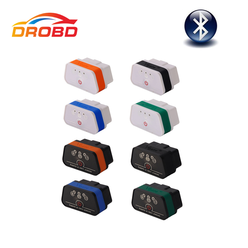 Prix pour 100% D'origine Vgate ICar2 ELM327 ICar 2 OBD Outil De Diagnostic Bluetooth Auto Dormir Travailler avec Android Pâte De ELM327 V1.5