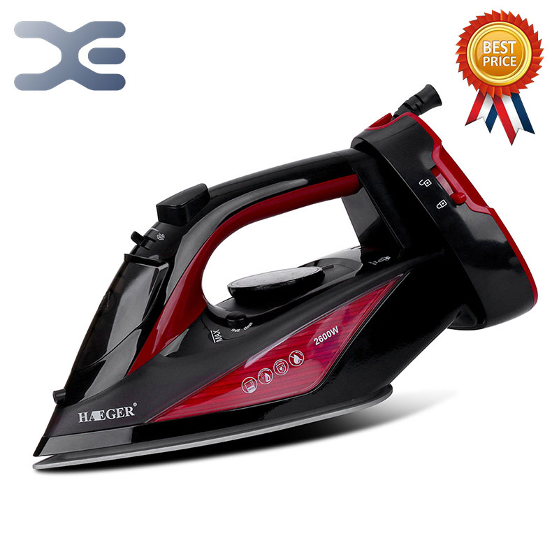 2 Colors 2600W Handheld Portable Electric Steam Iron For Clothes High Quality Ceramic Soleplate HG-12192 Colors 2600W Handheld Portable Electric Steam Iron For Clothes High Quality Ceramic Soleplate HG-1219