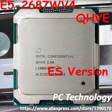 E5-2687WV4 Original Intel Xeon ES, versión E5 2687WV4 2,90 GHz 12-Core 30MB SmartCache E5 2687W V4 LGA2011-3 160W 1 año de garantía