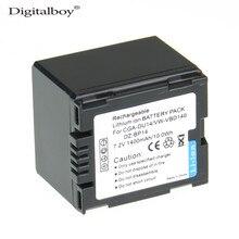 Câmera para Panasonic Digitalboy 1 PCS 1400 MAH Cga-du14 CGA Du14 Cgadu14 Recarregável DA Bateria Du06 Du07 Nv-gs10 Vdr-m70 e m50