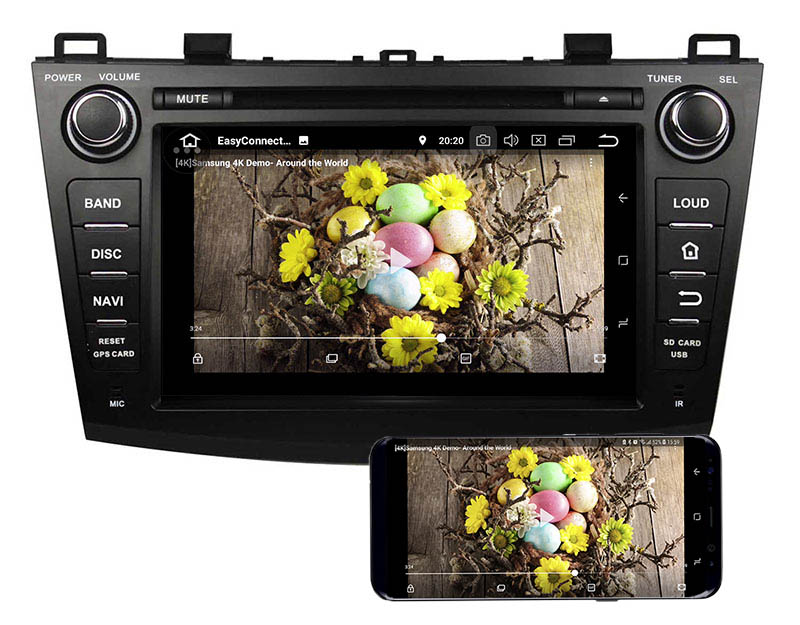 mazda 3 head unit replacement android 8.0 stereo 5