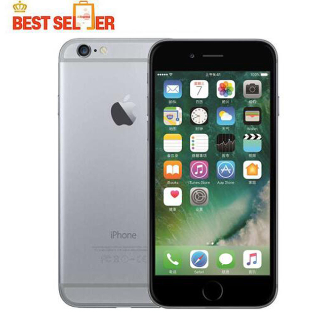 Original Apple iPhone 6 Unlocked IOS Smartphones 4.7 inch Touch Sreen Dual Core LTE WIFI Bluetooth 8.0MP Camera