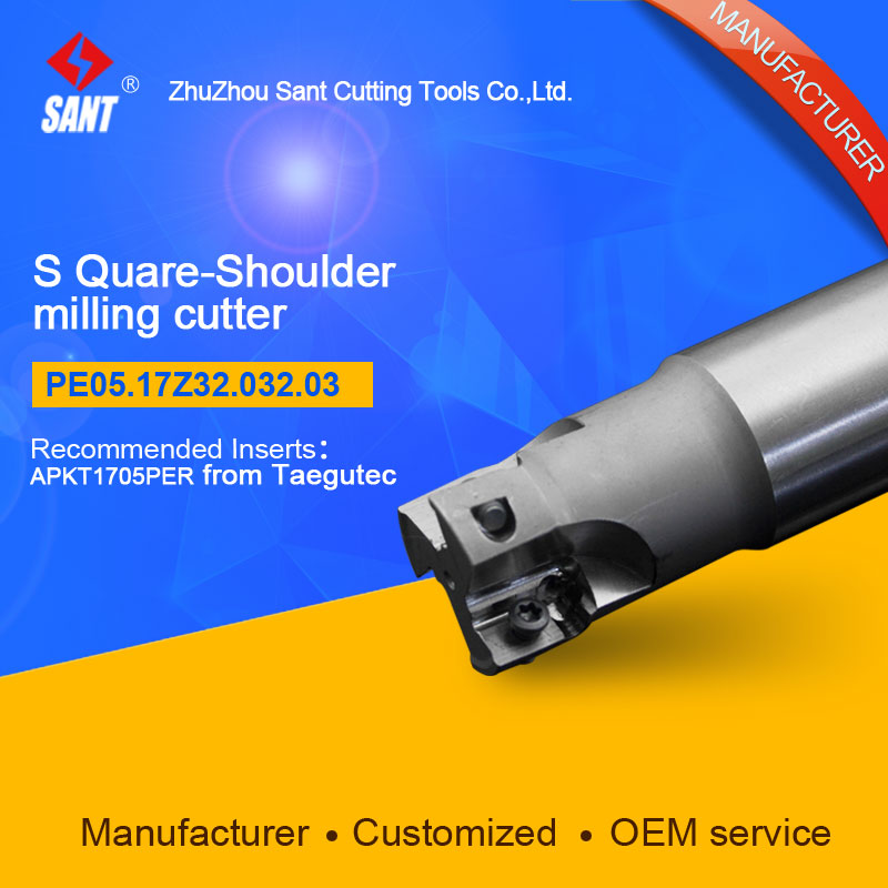 Customized size Square Should Milling Cutter Kr 90 PE05.17Z32.032.03, with APKT1705PER insert  цены