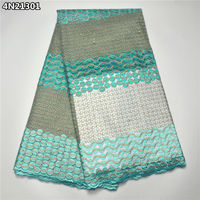 8 Color Good Quality Tulle Lace Africa Net Lace Mesh Fabric Wholesale And Retail France Lace