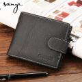 2016 Brand Coin Wallet Small Clutches  Wallet Men Clip Cowhide Wallet MenMen's Purse Coin Pouch Short Men Wallet