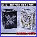 Fãs modelo athena + hades jacksdo-saint seiya cloth myth deus pano caixa de resina feita pode abrir freeshipping