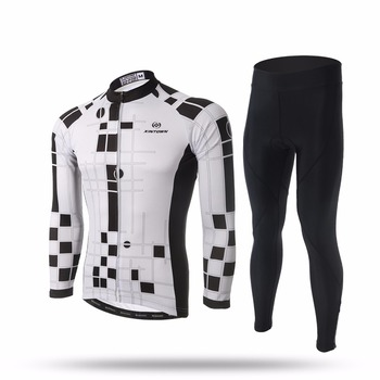 XINTOWN Cycling Sets Long Sleeve Breathable Jersey Clothes Bicicleta Mountain Bike Ropa Ciclismo Bicycle Set Long Sleeve ZHIHUI
