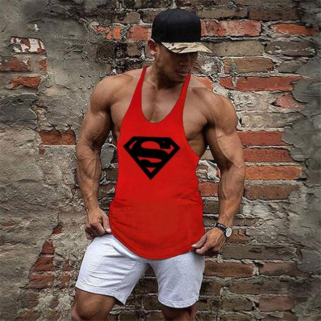 Bodybuilding Stringer Mens...